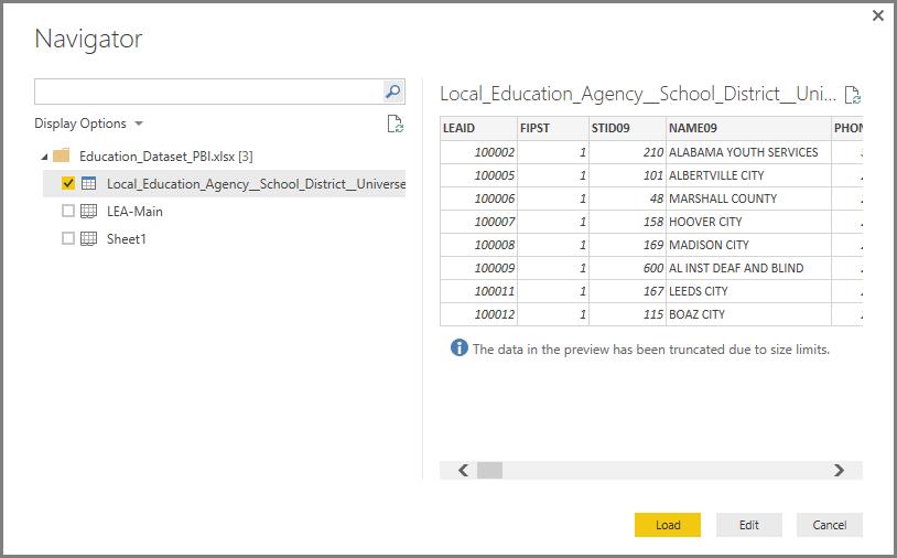 Connect to Excel in Power BI Desktop - Power BI | Microsoft Docs