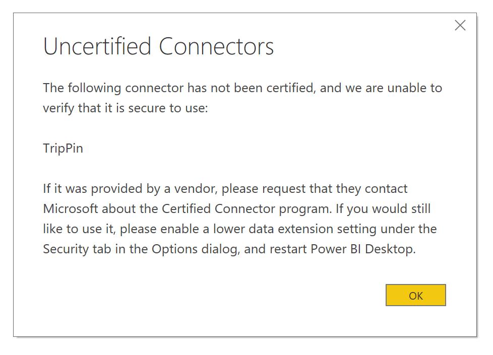 Connector Extensibility in Power BI - Power BI | Microsoft Docs