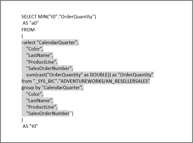 DirectQuery for SAP HANA in Power BI - Power BI | Microsoft Docs
