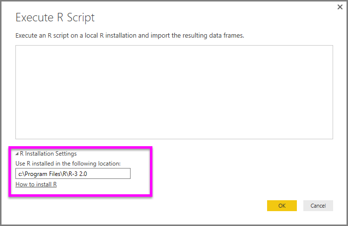 Running R Scripts in Power BI Desktop - Power BI | Microsoft Docs