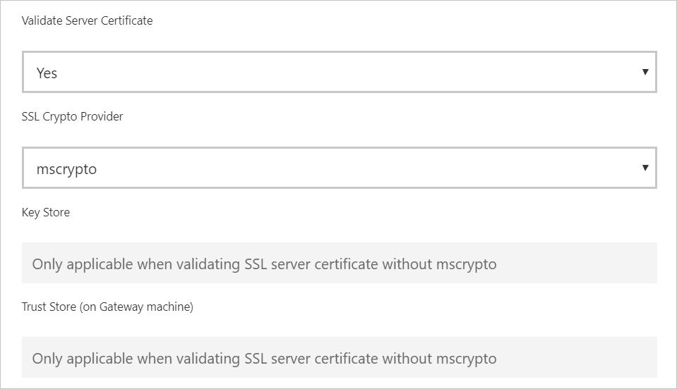 Enable encryption for SAP HANA - Power BI   Microsoft Docs