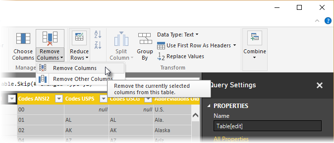Shape and combine data from multiple sources - Power BI