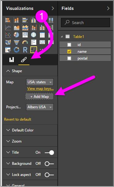 Use Shape Maps in Power BI Desktop Preview Power BI