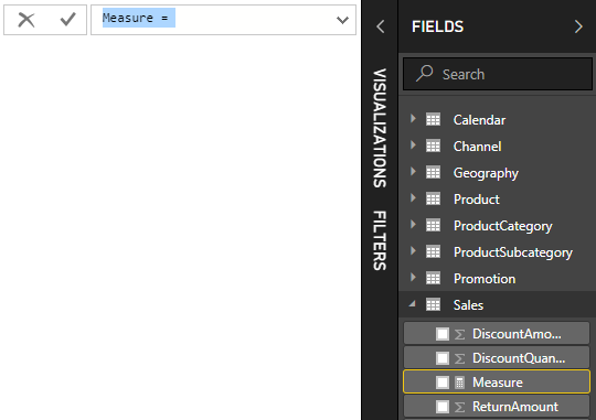 Tutorial: Create your own measures in Power BI Desktop - Power BI