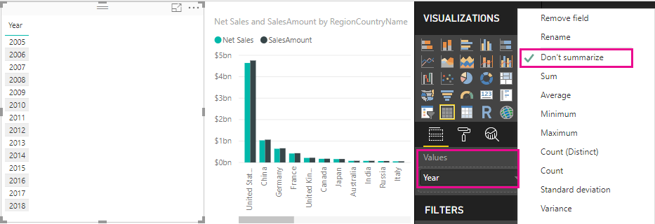 Tutorial: Create your own measures in Power BI Desktop