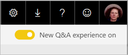 Power BI New Q&A experience