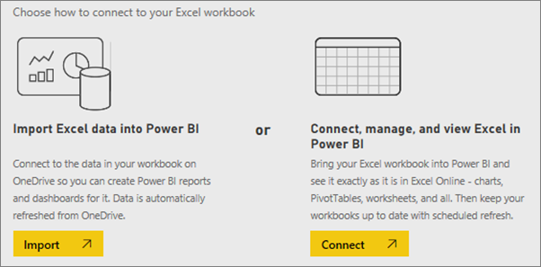 Take a tour of the samples available with power bi power bi choose whether to import the data or to bring the workbook into power bi and see it exactly as it is in excel online wajeb Images