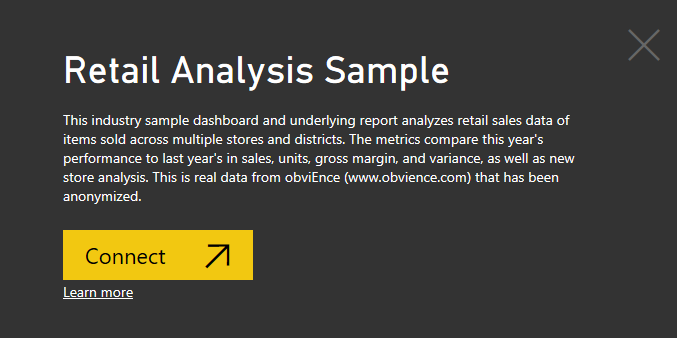 Retail Analysis Sample