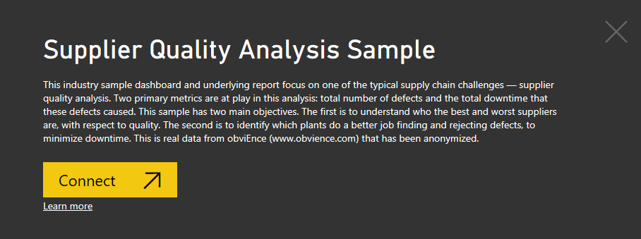 Supplier quality analysis sample for power bi take a tour power supplier quality analysis sample pronofoot35fo Images