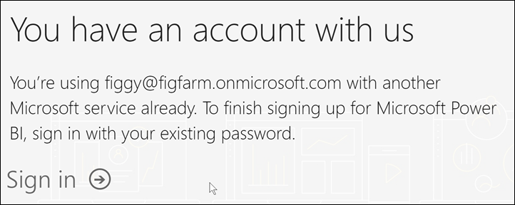 Microsoft recognizes your email