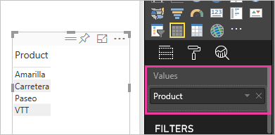Work with aggregates (sum, average, and so on) in the Power BI