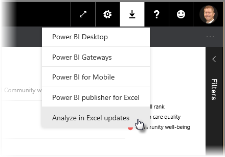 Analyze in Excel for Power BI - Power BI | Microsoft Docs