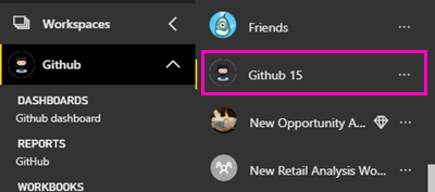 Connect to GitHub with Power BI - Power BI | Microsoft Docs