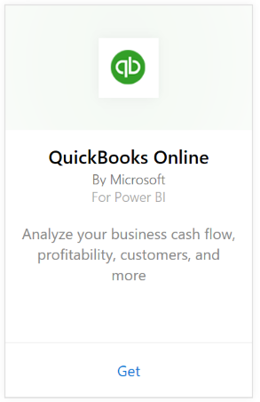 Connect to QuickBooks Online with Power BI - Power BI