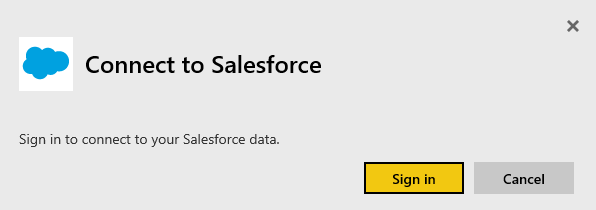 connect to salesforce with power bi power bi microsoft docs