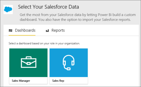 Connect to Salesforce with Power BI - Power BI | Microsoft Docs