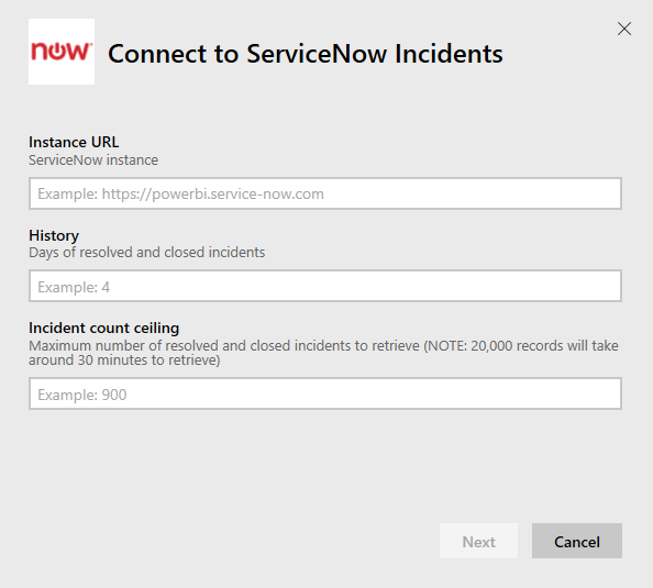 Connect to ServiceNow with Power BI - Power BI | Microsoft Docs