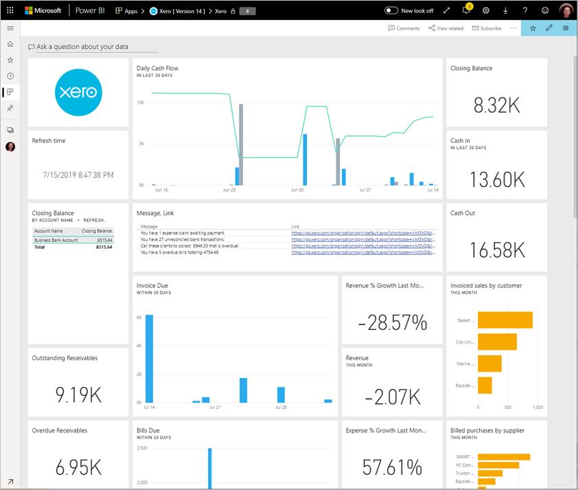 Connect to Xero with Power BI - Power BI | Microsoft Docs