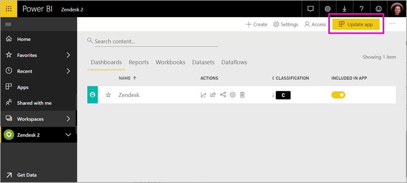Connect to Zendesk with Power BI - Power BI | Microsoft Docs