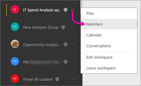 Create classic workspaces in Power BI - Power BI | Microsoft