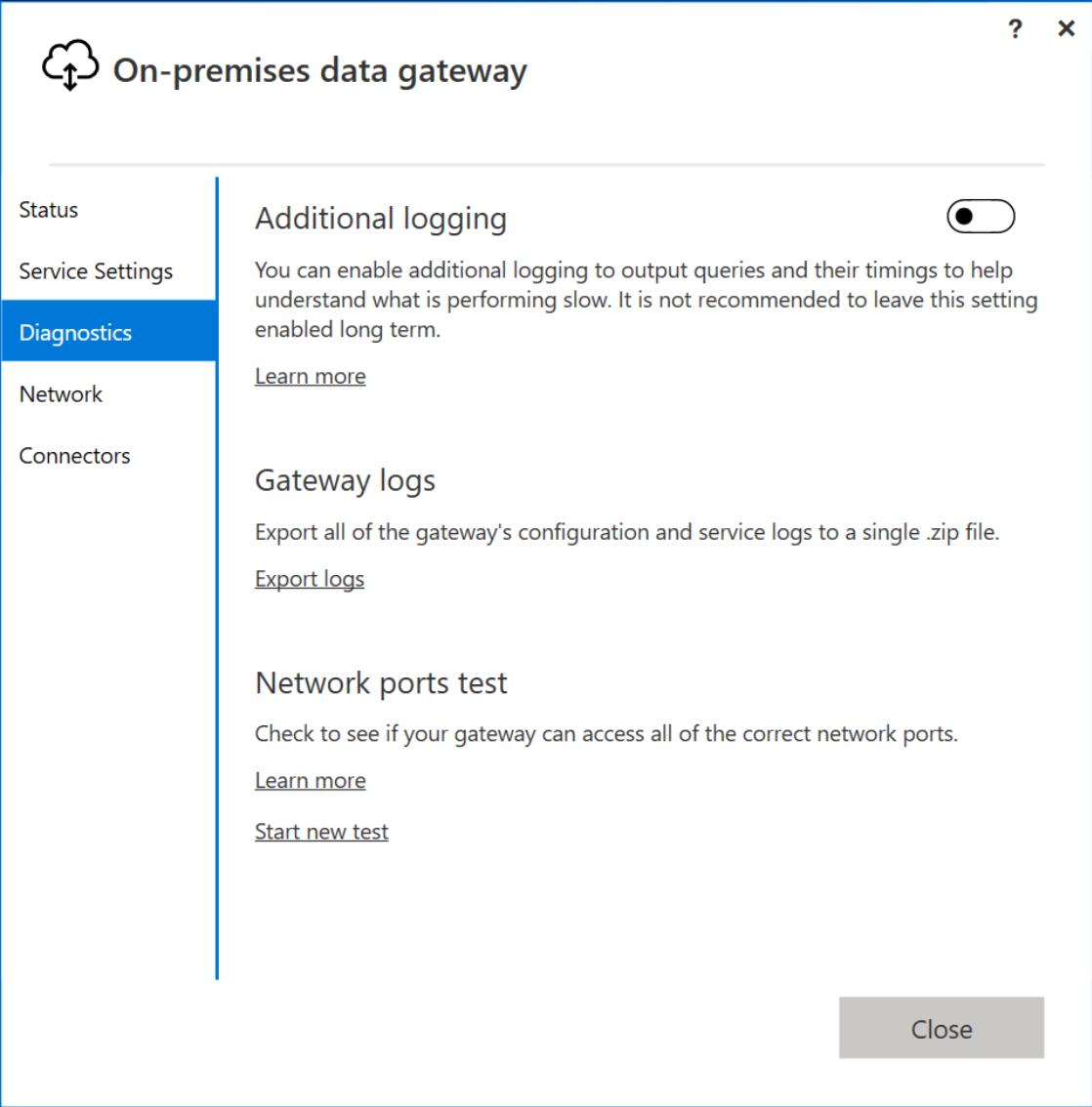 Troubleshooting The On Premises Data Gateway Power Bi Microsoft Docs