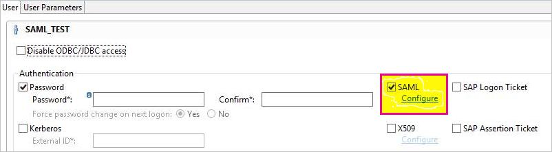 Use SAML for single sign-on (SSO) to on-premises data