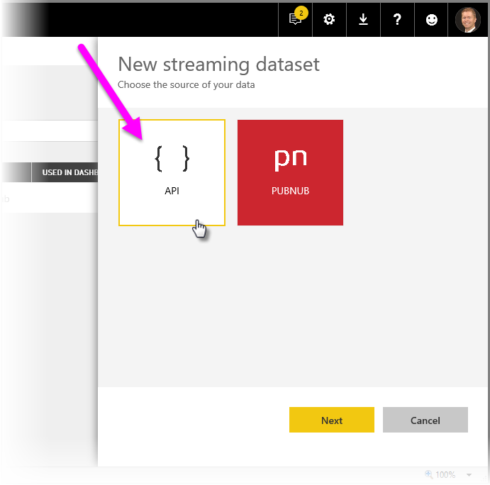 Real-time streaming in Power BI - Power BI | Microsoft Docs
