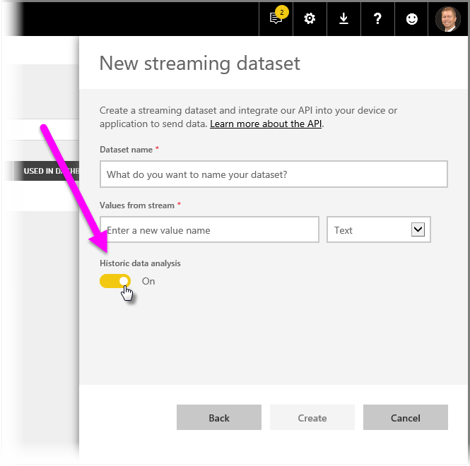 Real-time streaming in Power BI - Power BI | Microsoft Docs