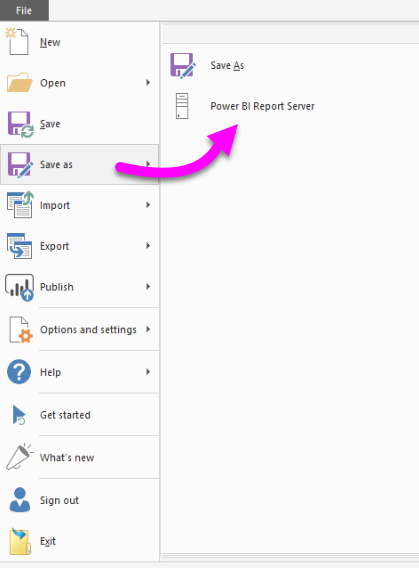 Embed a Power BI Report Server report using an iFrame in