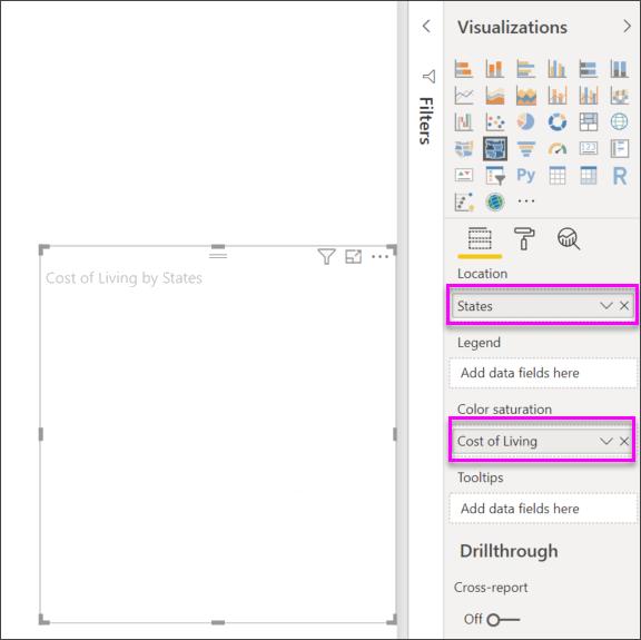 Use Shape maps in Power BI Desktop (Preview) - Power BI