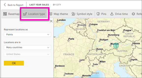 Create ArcGIS maps by ESRI in Power BI - Power BI | Microsoft Docs