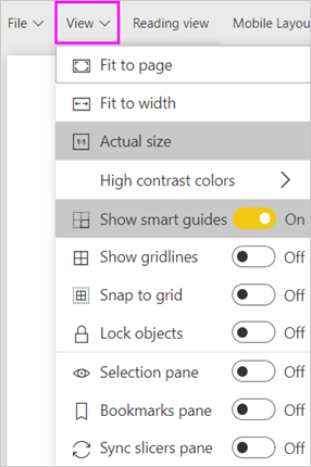 Best design practices for reports and visuals - Power BI | Microsoft ...