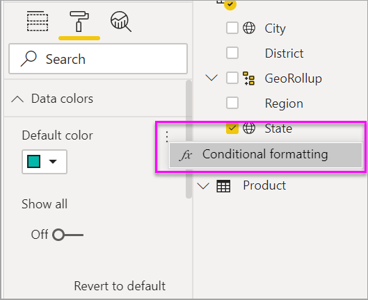 Filled Maps (Choropleths) in Power BI - Power BI | Microsoft Docs