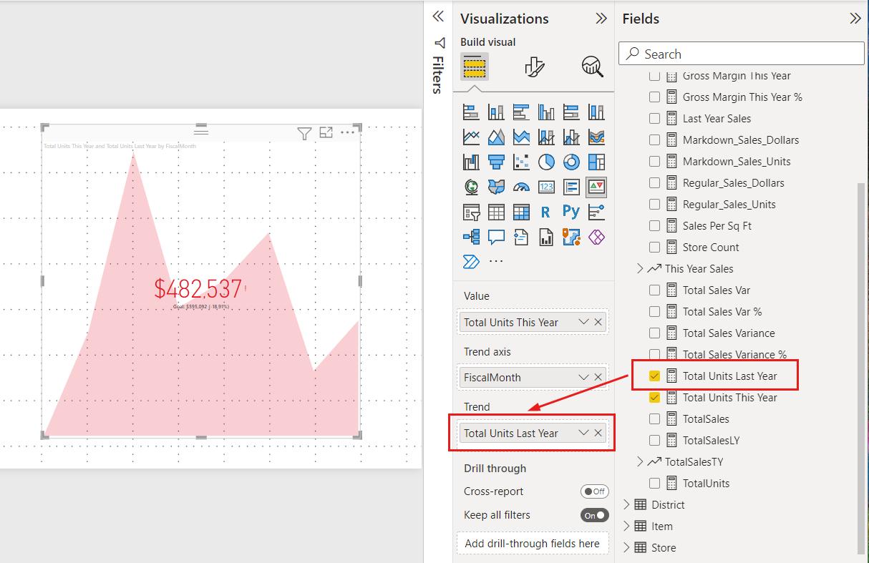 KPI visuals - Power BI   Microsoft Docs