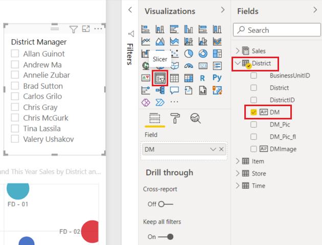 Tutorial - Slicers in Power BI - Power BI | Microsoft Docs