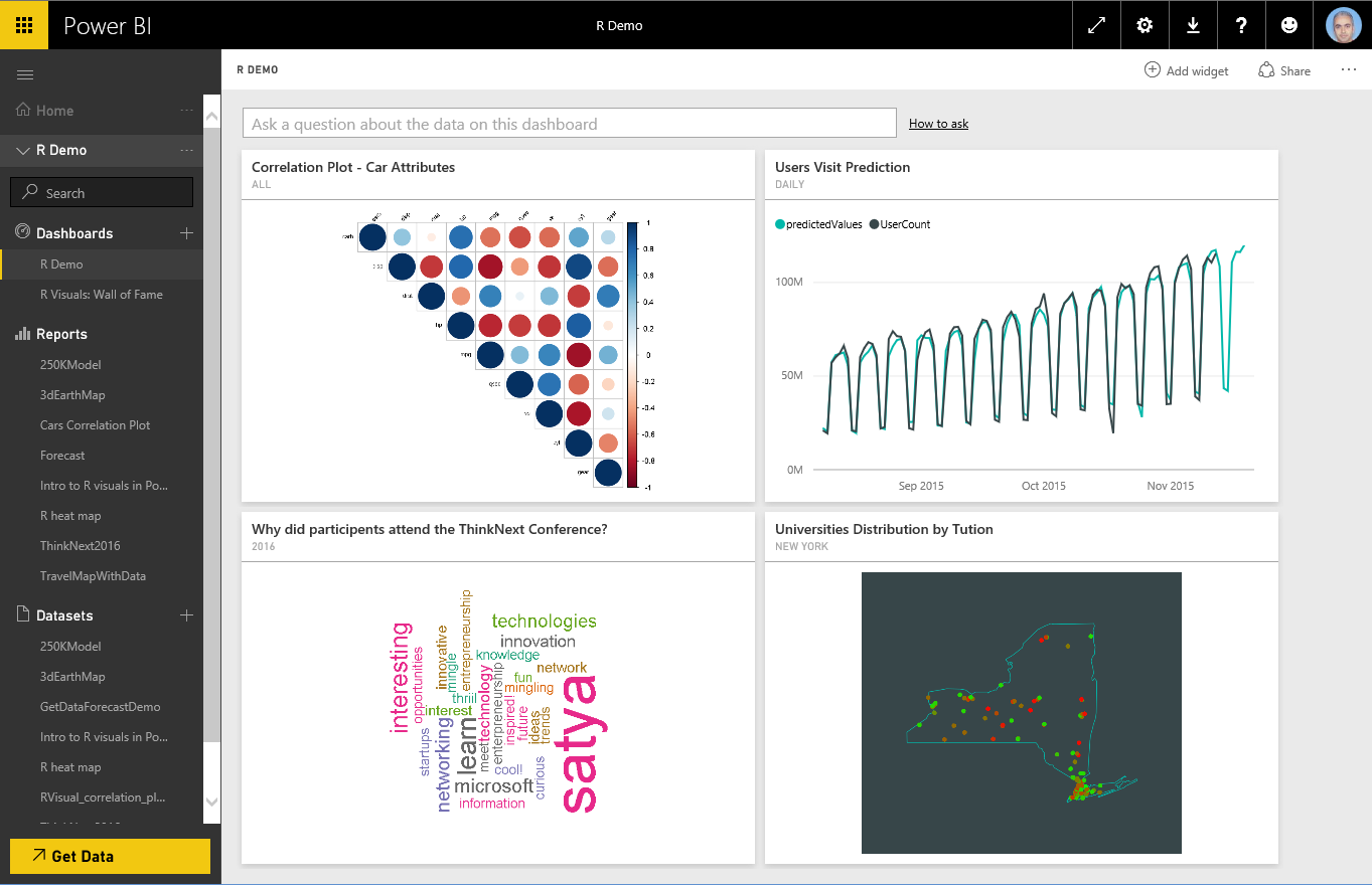 create advanced analytics and visualizations using r scripts in rh docs microsoft com