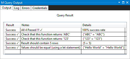 Handling unit testing for Power Query connectors | Microsoft