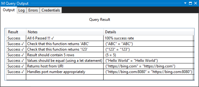 Handling unit testing for Power Query connectors   Microsoft Docs