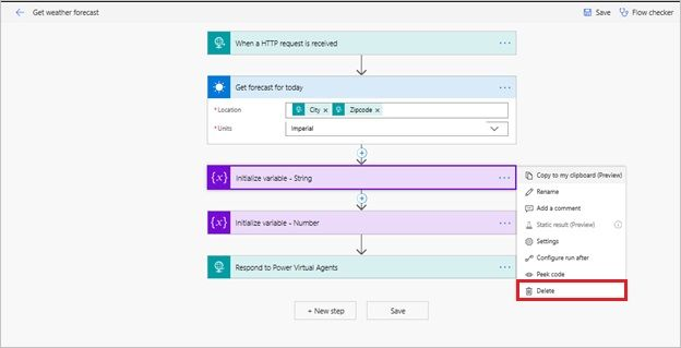 Automate Power Virtual Agents bot activities with flows