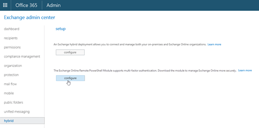 Elegant Download The Exchange Online PowerShell Module From The Hybrid Tab In The  EAC
