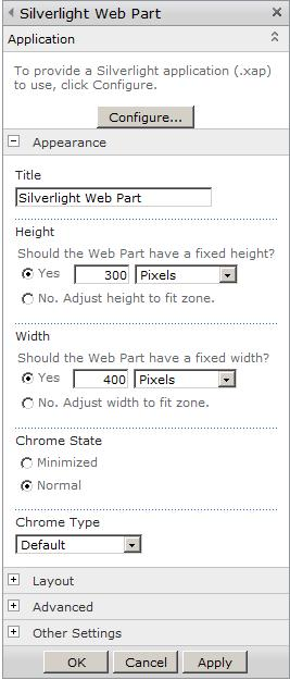 Integrating Custom Silverlight Applications with SharePoint