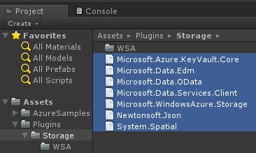 Azure Event Hubs SDK for Unity 2017 | Microsoft Docs