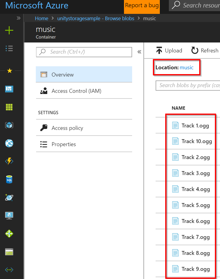 Azure Storage Bird | Microsoft Docs