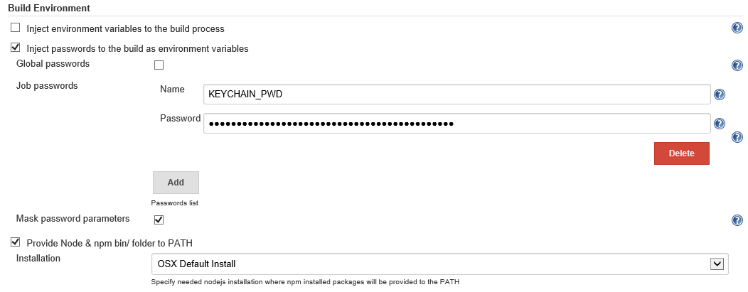 Using Jenkins with Visual Studio Tools for Apache Cordova (TACO