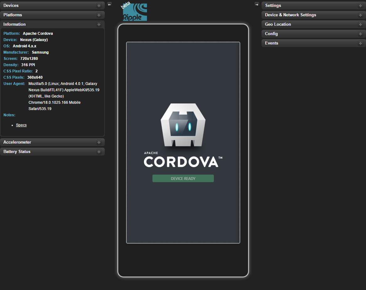 Get started with Visual Studio Tools for Apache Cordova