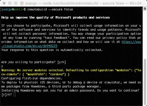 Visual Studio Tools for Apache Cordova: iOS Guide - Cordova