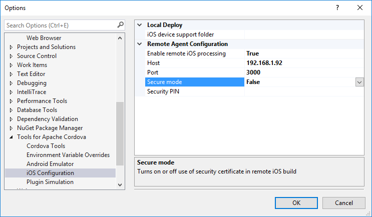 Visual Studio Tools for Apache Cordova: iOS Guide - Cordova