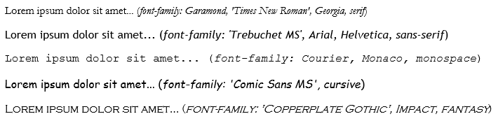 fontFamily property (Windows) | Microsoft Docs