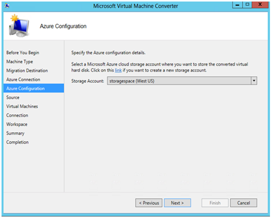 Use Microsoft Virtual Machine Converter | Microsoft Docs