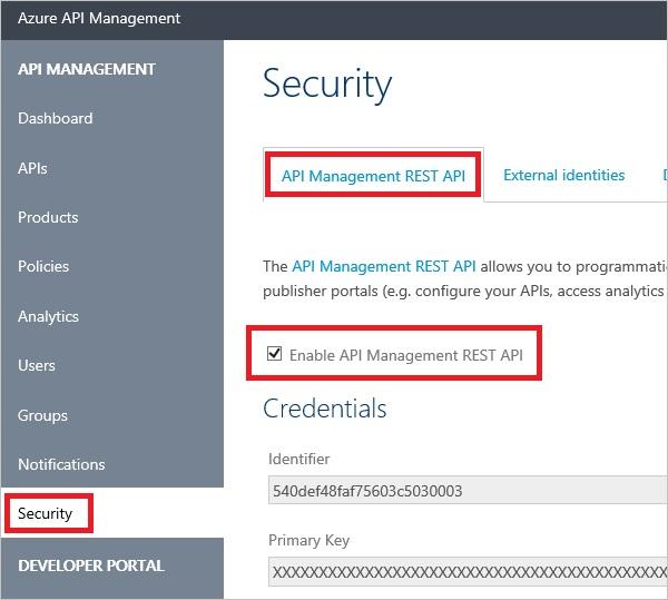 rest api documentation template - azure api management rest api authentication microsoft docs